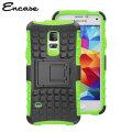 Encase ArmourDillo Samsung Galaxy S5 Mini Protective Case - Green