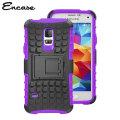 Encase ArmourDillo Samsung Galaxy S5 Mini Protective Case - Purple