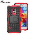 Encase ArmourDillo Samsung Galaxy S5 Mini Protective Case - Red