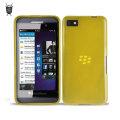 FlexiShield Case for BlackBerry Z10 - Yellow