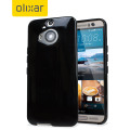 FlexiShield HTC One M9 Plus Case - Solid Black