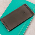 FlexiShield Huawei P8 Case - Smoke Black