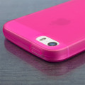 FlexiShield iPhone SE Gel Case - Pink
