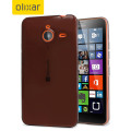 Flexishield Microsoft Lumia 640 XL Gel Case - Smoke Black