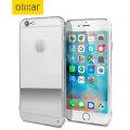 FlexiShield Mirror iPhone 6S / 6 Gel Case - Silver