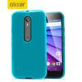 FlexiShield Motorola Moto G 3rd Gen Gel Case - Blue