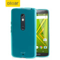 FlexiShield Motorola Moto X Play Gel Case - Blue