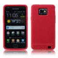 Flexishield Samsung Galaxy S2 i9100 Silicone Gel Case- Red