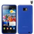 FlexiShield Skin For Samsung Galaxy S2 i9100 - Blue