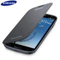 Genuine Samsung Galaxy S3 Flip Cover - Sapphire Black Titanium