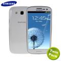 Genuine Samsung S3 Slim Case - White - EFC-1G6SWEC - Twin Pack