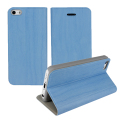 Grainz Wood Grain Folio Case For Apple iPhone 5C - Blue