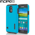 Incipio DualPro Case for Samsung Galaxy S5 - Cyan / Grey