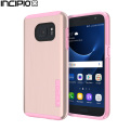 Incipio DualPro Shine Samsung Galaxy S7 Case - Rose Gold / Pink