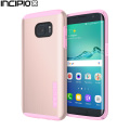 Incipio DualPro Shine Samsung Galaxy S7 Edge Case - Rose Gold / Pink