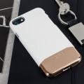 Incipio Edge Chrome iPhone 7 Case - White Opal / Chrome Rose Gold