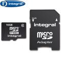 Integral 16GB Class 10 Micro SDHC Memory Card