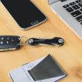 KeySmart Compact Key Holder & Organiser - Black