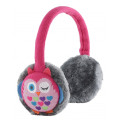 KitSound Audio Earmuff Headphones - Owl