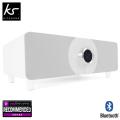 KitSound Boom Evolution 2.1 Bluetooth Sound System - White