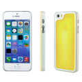 Kuke Glow In The Dark Sand Case for iPhone 5S / 5 - Yellow