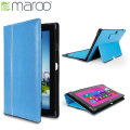 Maroo Leather Folio Case for Surface Pro 2 / Pro - Azure Blue