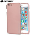 Mercury iJelly iPhone 6S Plus / 6 Plus Gel Case - Metallic Rose Gold