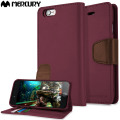 Mercury Sonata Diary iPhone 6S / 6 Premium Wallet Case - Wine