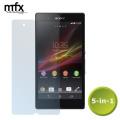 MFX 5-in-1 Screen Protectors - Sony Xperia Z