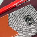 Moncabas Liza Leather Samsung Galaxy S7 Edge Wallet Case - Grey