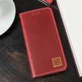 Moncabas Vintage Genuine Leather iPhone 6S / 6 Wallet Case - Red