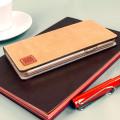 Moncabas Vintage Leather Samsung Galaxy Note 5 Wallet Case - Camel