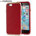 Motomo Ino Line Infinity iPhone 6S / 6 Case - Iron Red / Gold