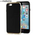 Motomo Ino Line Infinity iPhone 6S / 6 Case - Stone Black / Gold