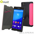 Muvit Easy Folio MFX Sony Xperia Z5 Compact Case - Pink
