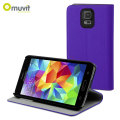 Muvit Folio Stand Case for Samsung Galaxy S5 - Purple
