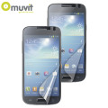 Muvit Matte and Glossy Screen Protectors for Samsung Galaxy S4 Mini