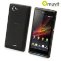 Muvit miniGEL Case for Sony Xperia L - Black