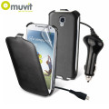 Muvit Protect and Charge Pack for Samsung Galaxy S4 - Black