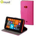 Muvit Slim Folio Case for Nokia Lumia 625 - Pink