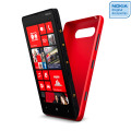 Nokia Original Lumia 820 Wireless Charging Shell CC-3041RD - Red