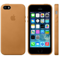 Official Apple iPhone 5S / 5 Leather Case - Brown