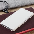 Official Leather Style Huawei P9 Lite Flip Cover - White