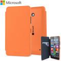 Official Microsoft Lumia 640 Wallet Cover Case - Orange