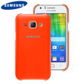 Official Samsung Galaxy J1 2015 Protective Cover Case - Orange