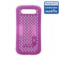 Official Samsung Galaxy S3 Mesh Vent Case - Purple
