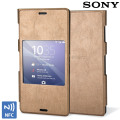 Official Sony Xperia Z3 Style Cover with Smart Window - Copper