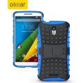Olixar ArmourDillo Motorola Moto X Play Protective Case - Blue