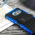Olixar ArmourDillo Samsung Galaxy S7 Edge Protective Case - Blue