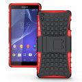 Olixar ArmourDillo Sony Xperia Z3 Protective Case - Red